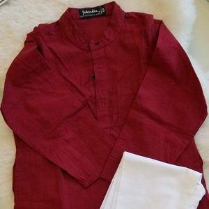 Indian Cotton Kurta Pajama